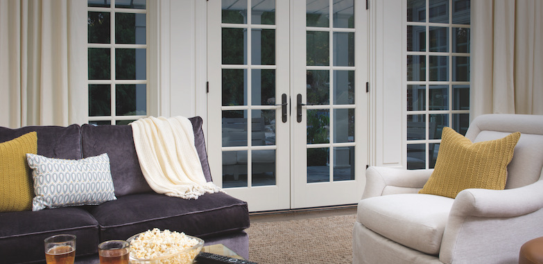 Cozy home with Pella windows and doors